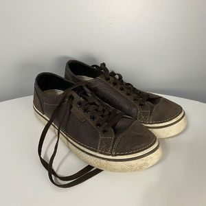 CROCS Shoes - CROCS Lace-Up Brown UNISEX Casual Sneakers m9/w11